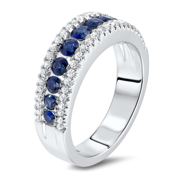 sapphire and diamond ring st thomas usvi