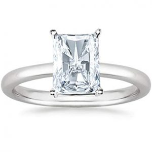 Radiant Cut Diamond Ring St, Thomas