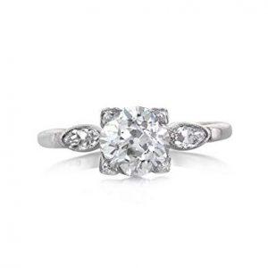 old europpean cut diamond ring st. thomas