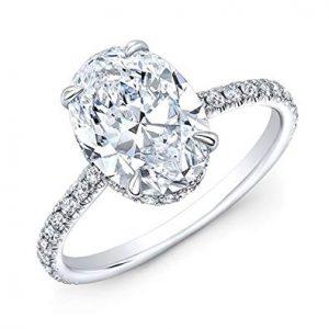 Oval Diamond Ring St. Thomas
