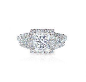 Princess Cut Diamond Ring St. Thomas