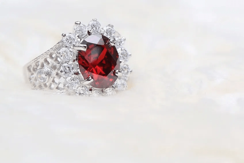Ruby Ring St Thomas