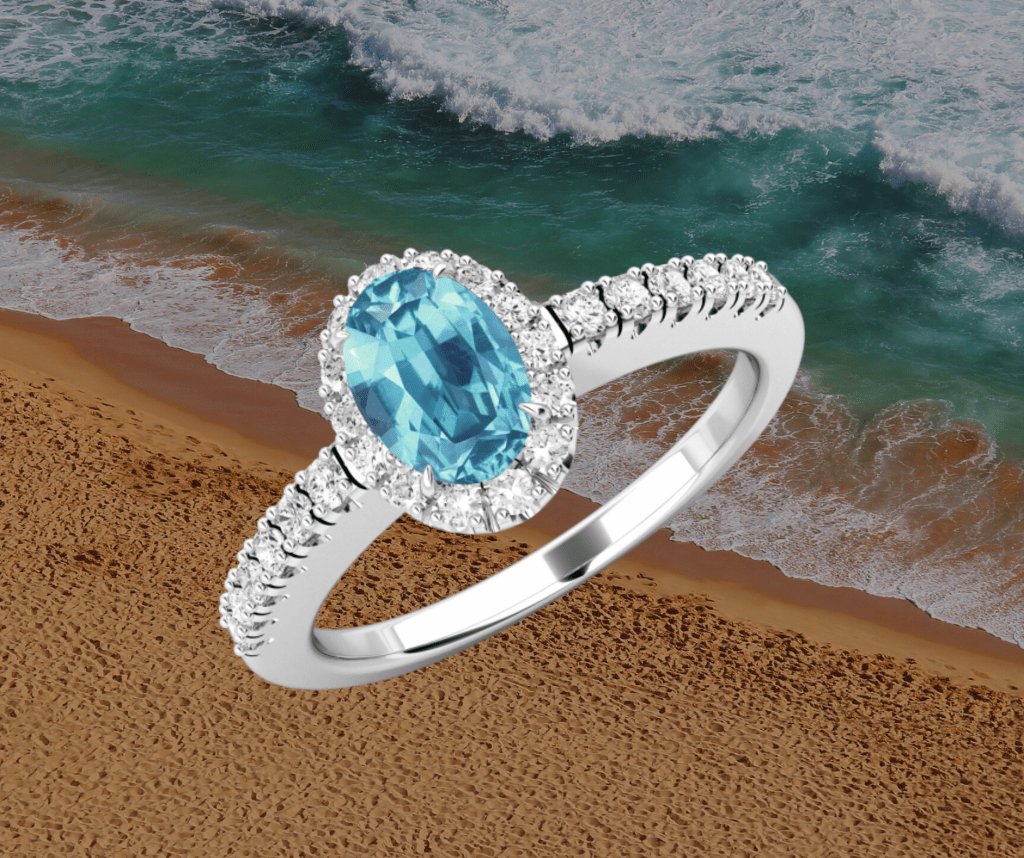 aquamarine ring st thomas