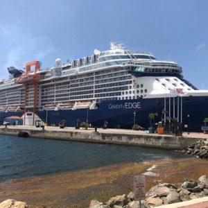 cruise ships return to st thomas