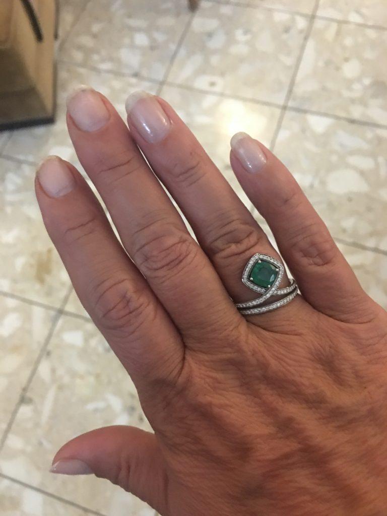 emerald ring st thomas